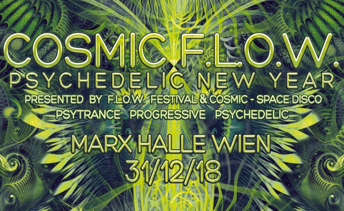 COSMIC FLOW 2018 Flyer